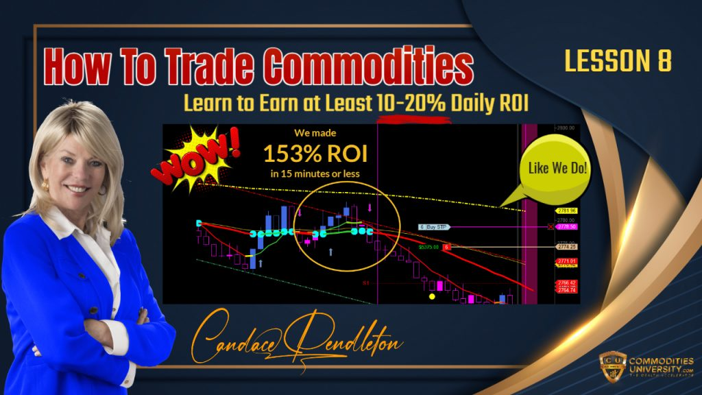 How to Trade Commodities - Lesson 8